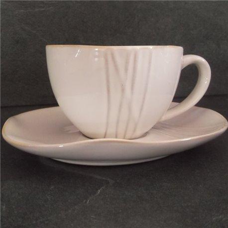 4 tasses céramique