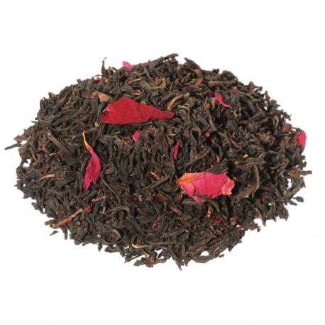 Thé de Chine à la rose