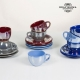 Ensemble de thé Vaisselle Bordeaux (12 pcs) - Collection Kitchen's Deco by Bravissima Kitchen