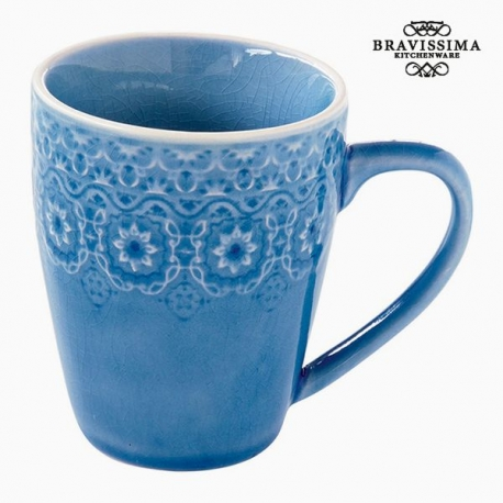 Tasse Porcelaine Bleu by Bravissima Kitchen