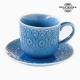 Tasse à infusion Porcelaine Bleu by Bravissima Kitchen