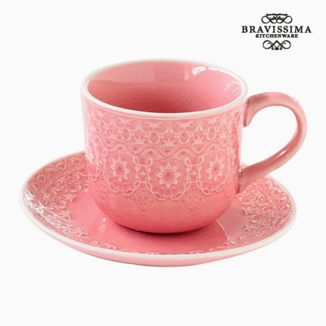 Tasse à infusion Porcelaine Corail by Bravissima Kitchen