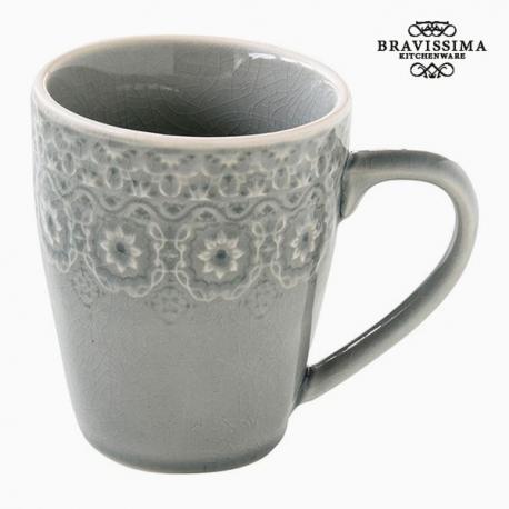 Tasse Porcelaine Gris by Bravissima Kitchen