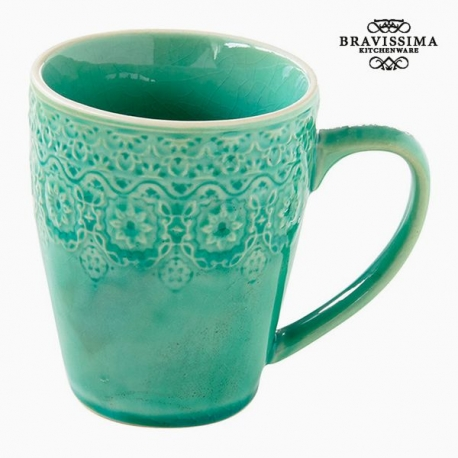 Tasse Porcelaine Vert by Bravissima Kitchen