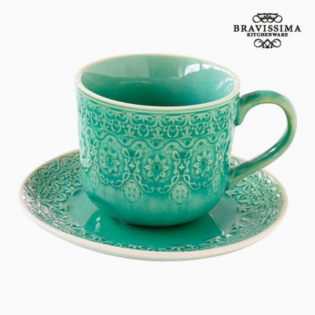 Tasse à infusion Porcelaine Vert by Bravissima Kitchen