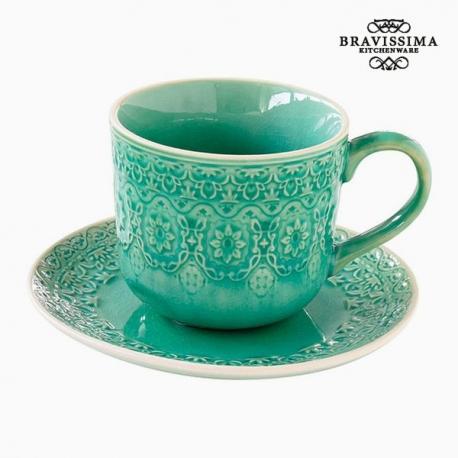 Tasse à infusion Porcelaine Vert by Bravissima Kitchen