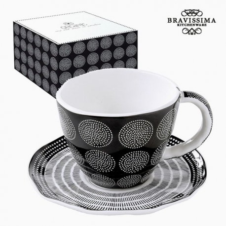 Tasse à infusion Porcelaine Noire by Bravissima Kitchen