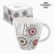 Tasse avec boîte Porcelaine Blanc by Bravissima Kitchen