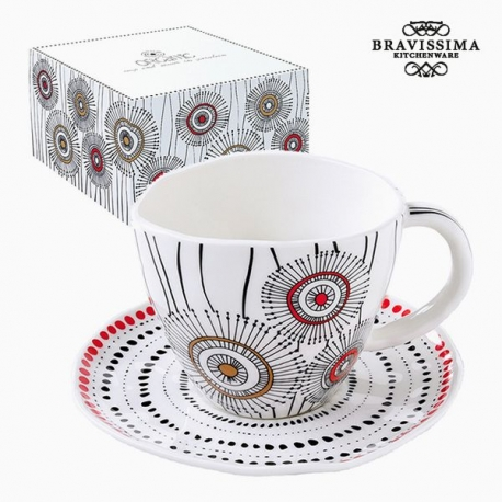 Tasse à infusion Porcelaine Blanc by Bravissima Kitchen