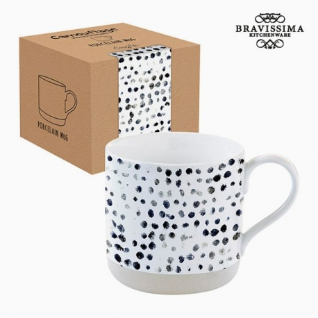 Tasse avec boîte Porcelaine Camouflage by Bravissima Kitchen