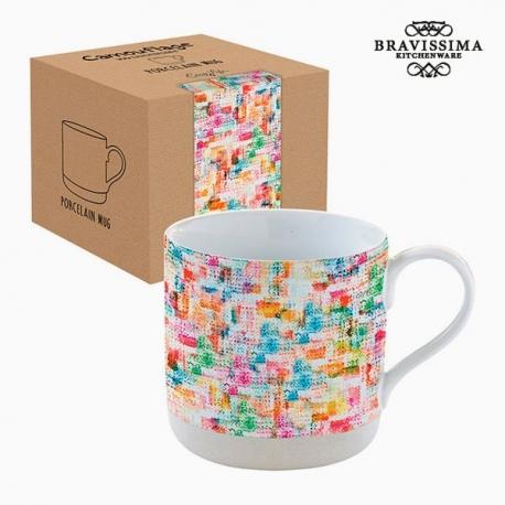 Tasse avec boîte Porcelaine Multicouleur by Bravissima Kitchen