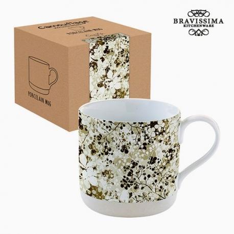 Tasse avec boîte Porcelaine Camouflage Volets by Bravissima Kitchen