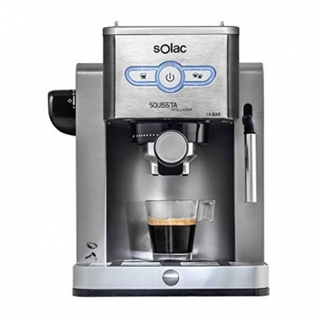 Café Express Arm Solac CE4494 New Squissita Intelligent 19 bar 1,25 L 900W Argenté Acier inoxydable