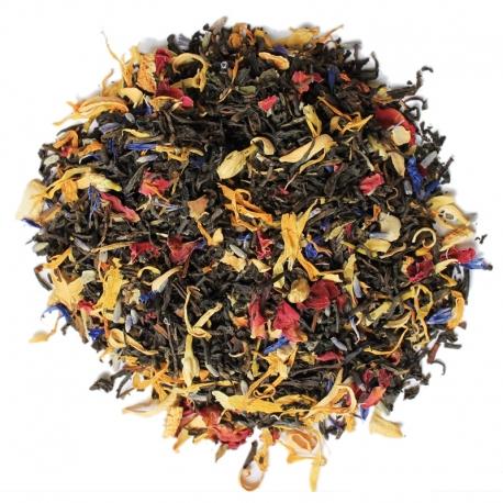 Thé noir aromatisé Mille fleurs