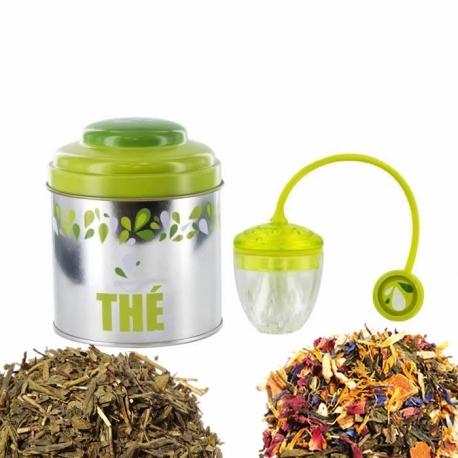 Coffret de thé vert
